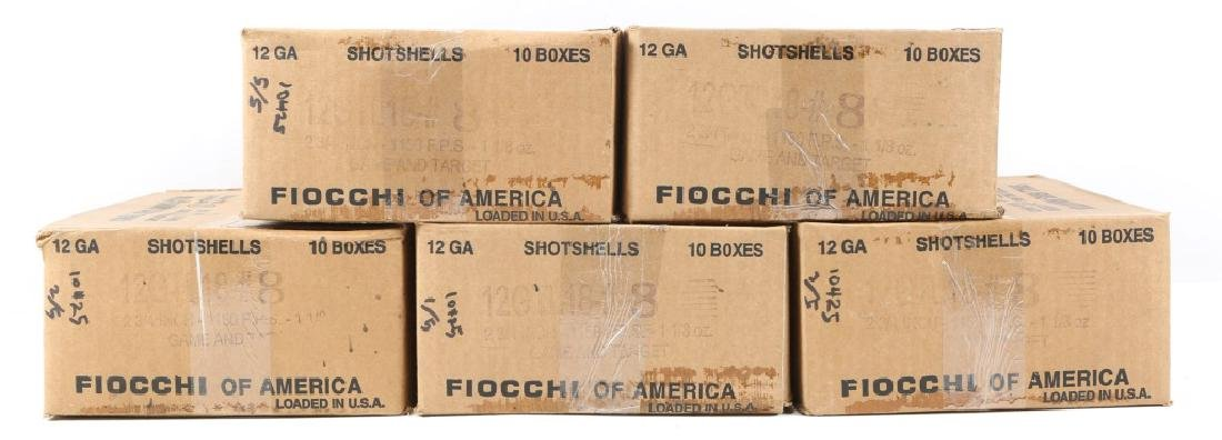 1250 FIOCCHI 12 GA GAME AND TARGET LOADS