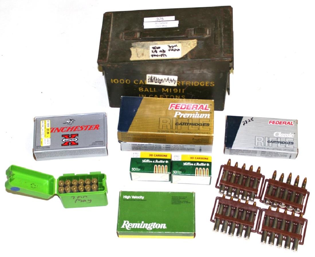 AMMO CAN OF MIXED AMMUNITION