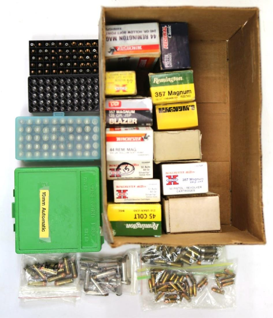 800+ ASSORTED AMMUNITION