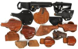 ASSORTED HOLSTERS LOT OF 16