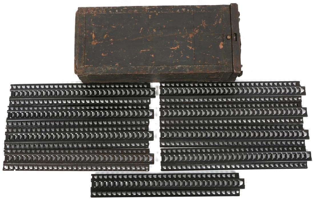 JAPANESE TYPE 92 MACHINEGUN STRIPPER CLIPS IN CASE