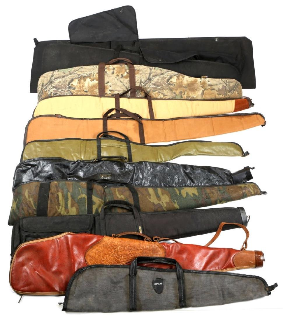 LONG GUN SOFT CASE LOT OF 10
