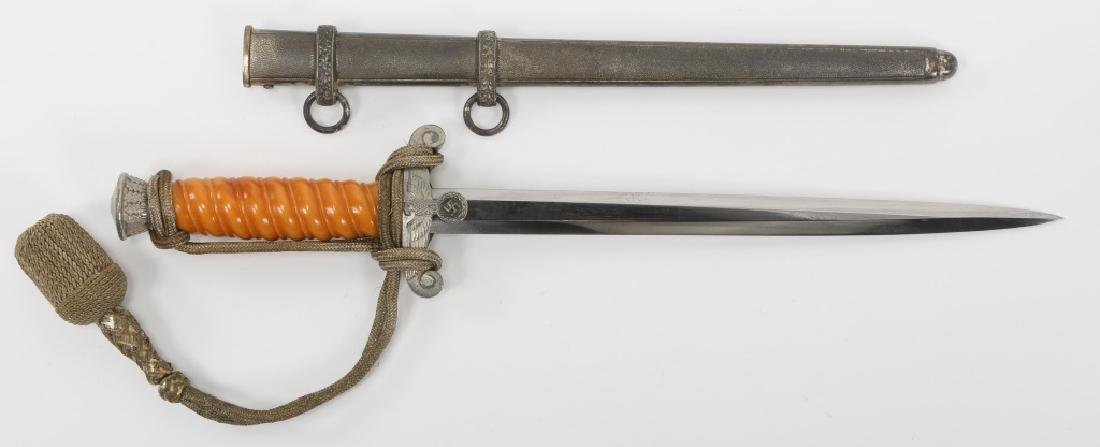 WWII GERMAN ARMY OFFICER DAGGER BY HERDER