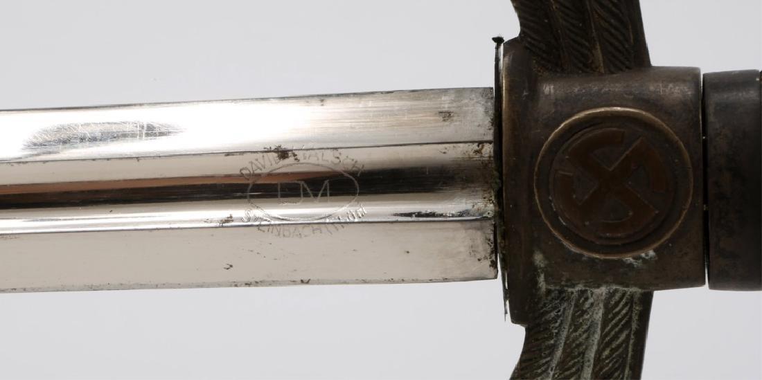 WWII GERMAN EARLY LUFTWAFFE SWORD BY DAVID MALSCH - 7