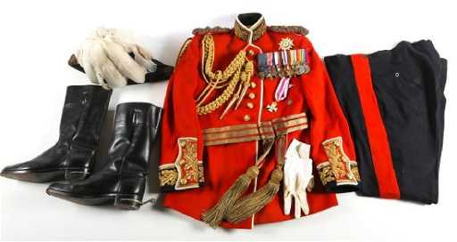 British Army General Full Dress Uniform