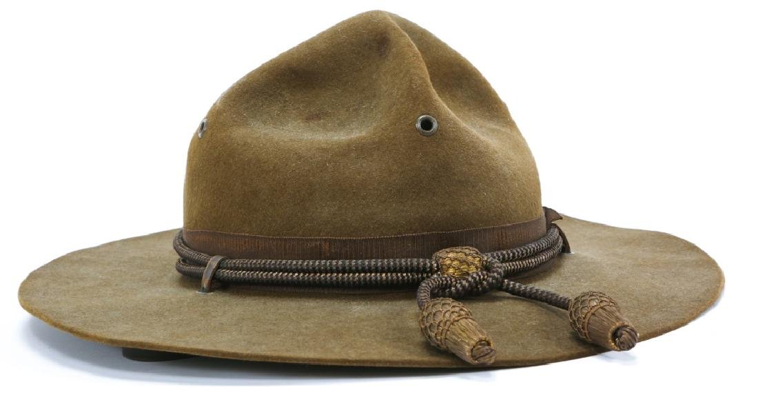 WWII US ARMY OFFICER CAMPAIGN HAT