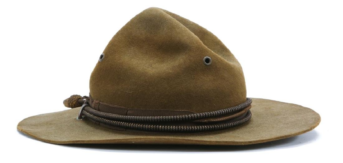 WWII US ARMY OFFICER CAMPAIGN HAT - 2