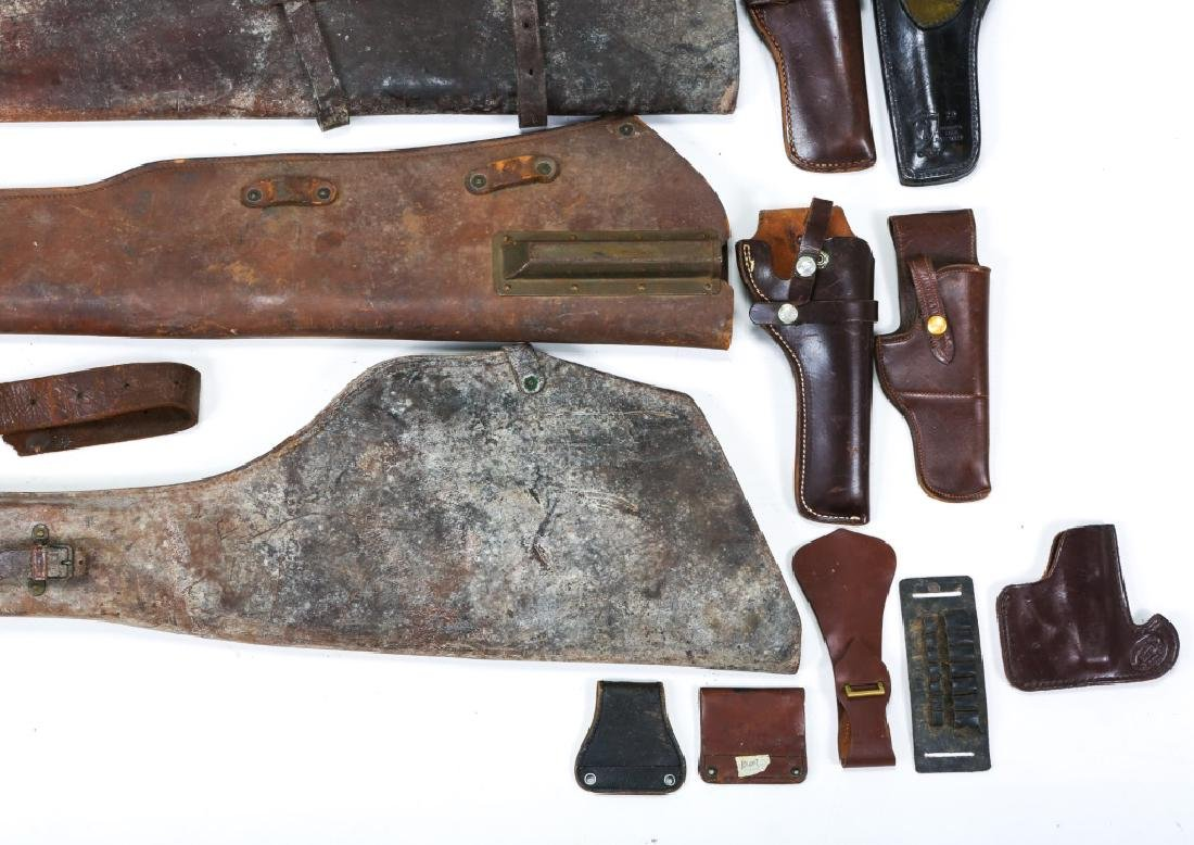 MILITARY LEATHER ITEM LOT OF 25 - 5