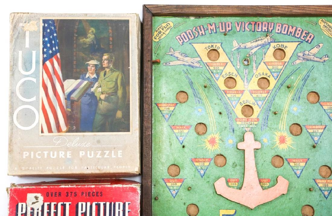 WWII HOMEFRONT GAME AND ENTERTAINMENT LOT OF 7 - 2