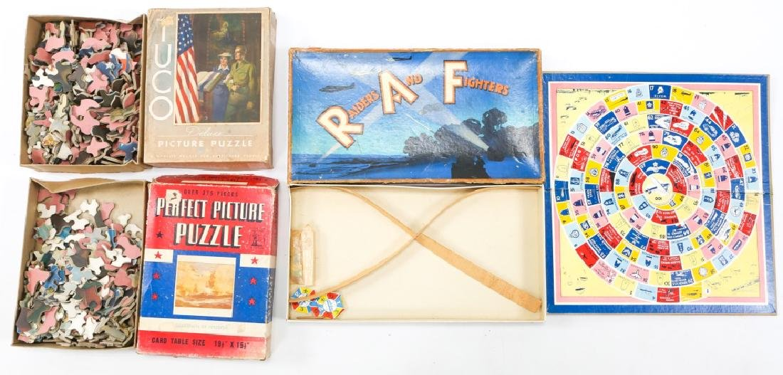 WWII HOMEFRONT GAME AND ENTERTAINMENT LOT OF 7 - 6