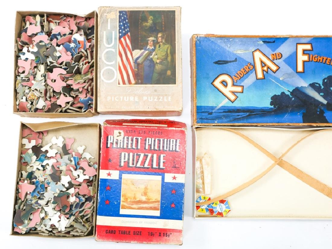 WWII HOMEFRONT GAME AND ENTERTAINMENT LOT OF 7 - 7