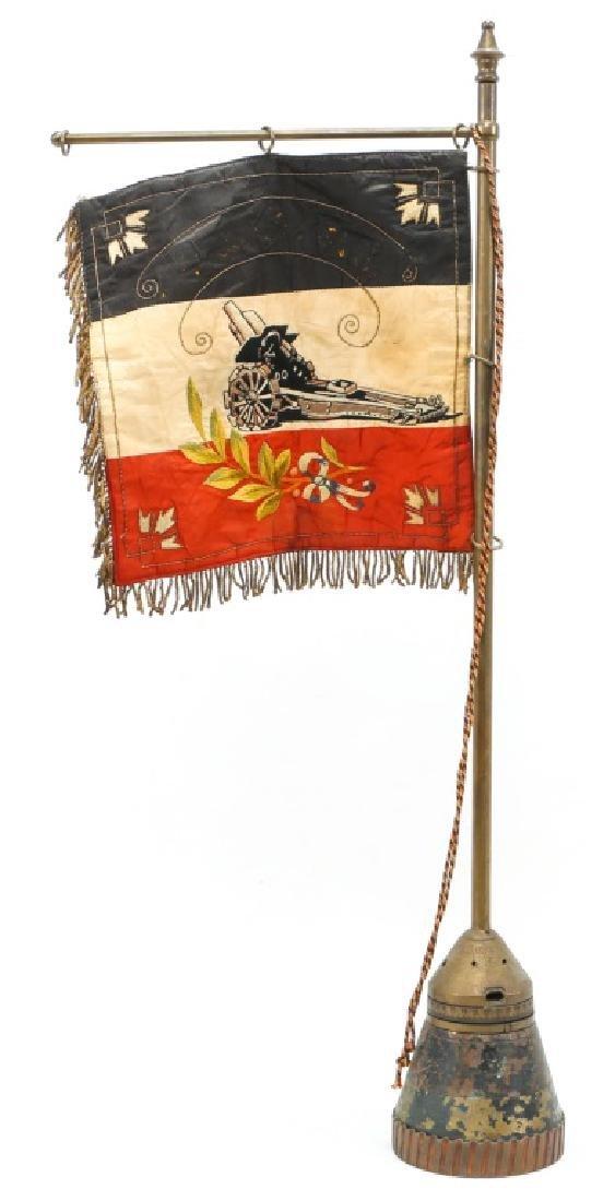 WWI IMPERIAL GERMAN HEAVY ARTILLERY FLAG