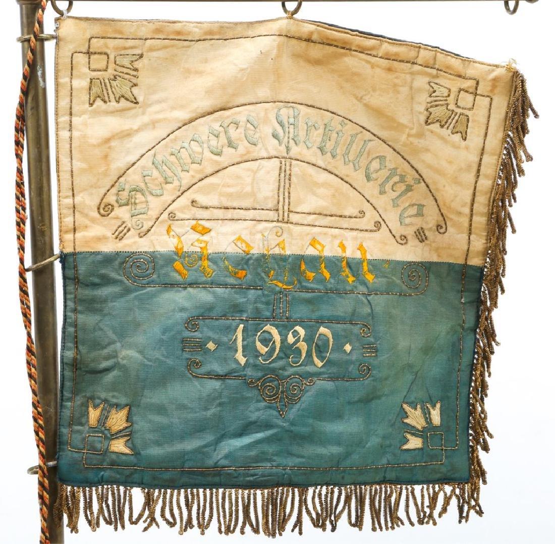 WWI IMPERIAL GERMAN HEAVY ARTILLERY FLAG - 3