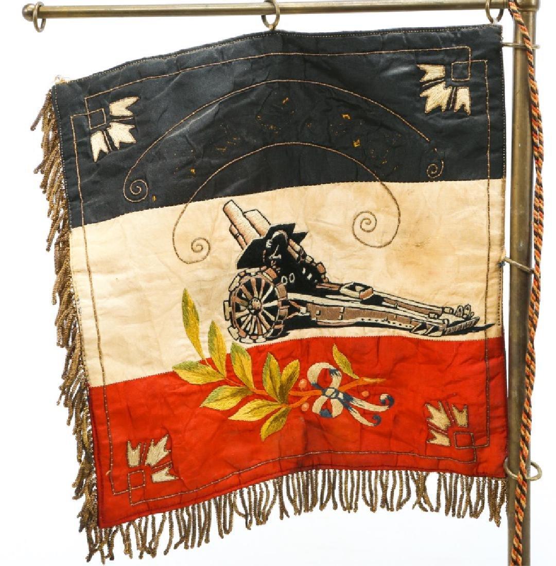 WWI IMPERIAL GERMAN HEAVY ARTILLERY FLAG - 5