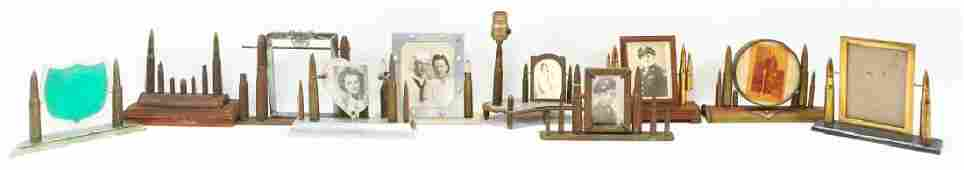 WWII SWEETHEART PICTURE FRAME LOT OF 10