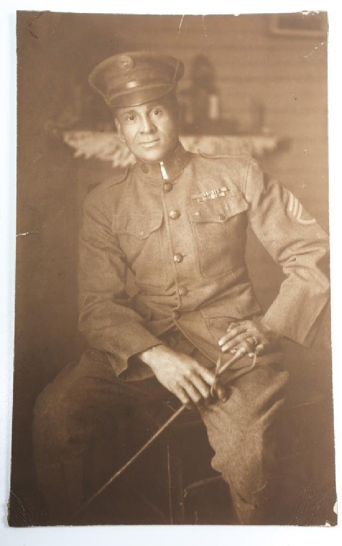 WWI US ARMY CAVALRY AFRICAN AMERICAN NCO PICTURE