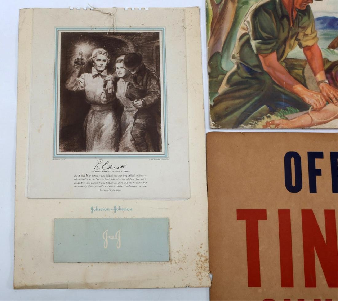 WWII US WAR POSTER LOT OF 4 - 2
