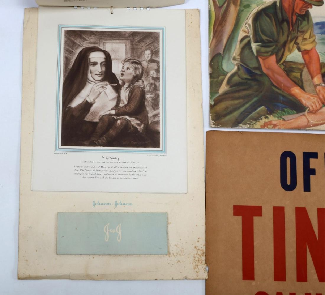 WWII US WAR POSTER LOT OF 4 - 3