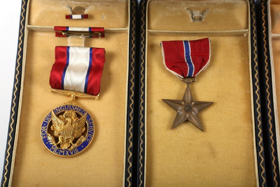 WWII US ARMY CASED MEDAL  LOT OF 5 - 3