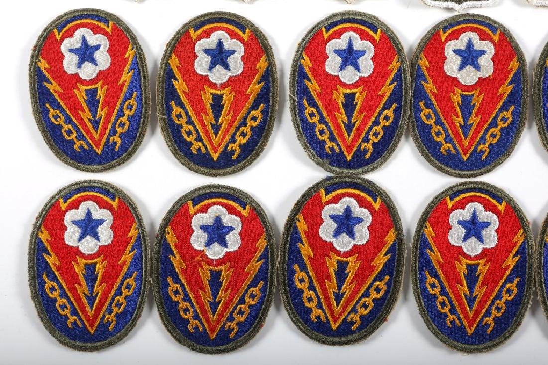 WWII US ARMY PATCH LOT OF 21 - 3