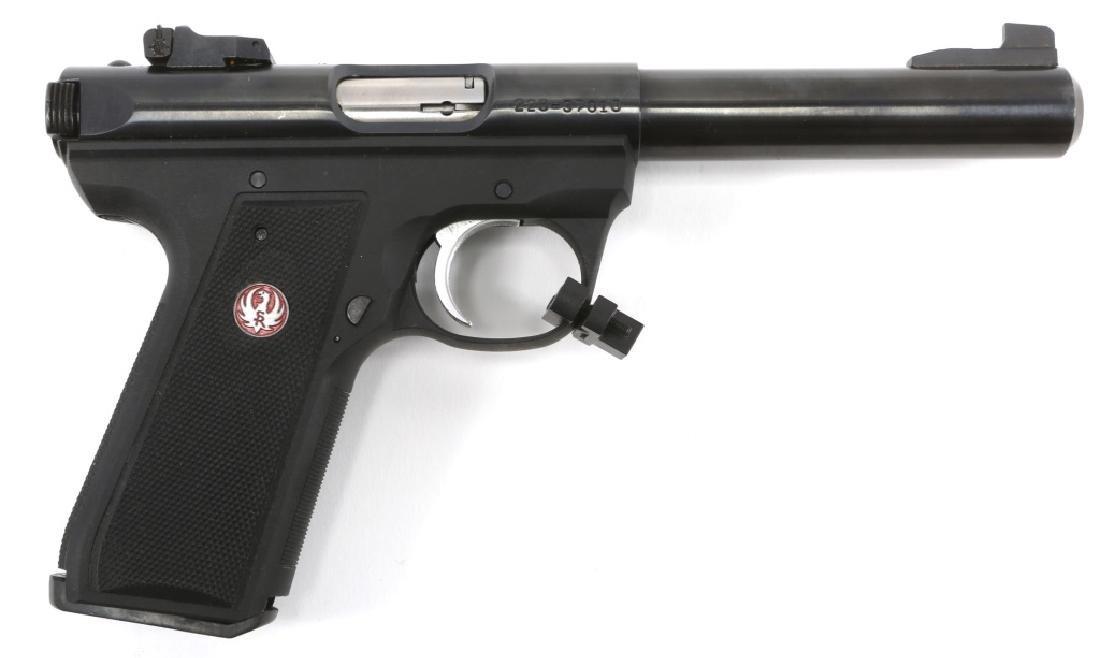 RUGER TARGET MODEL 22/45 MK III PISTOL .22 LR