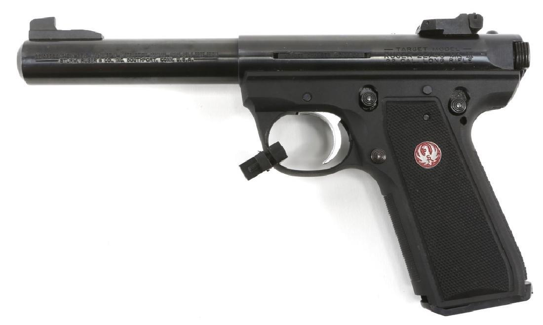 RUGER TARGET MODEL 22/45 MK III PISTOL .22 LR - 3