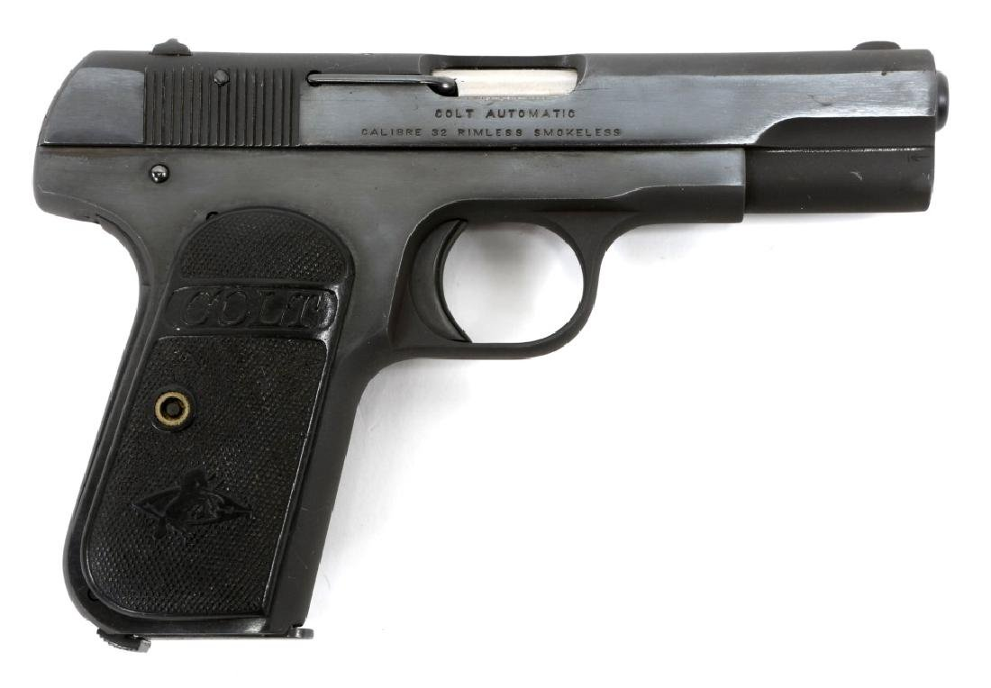 COLT MODEL 1903 POCKET HAMMERLESS .32 ACP PISTOL