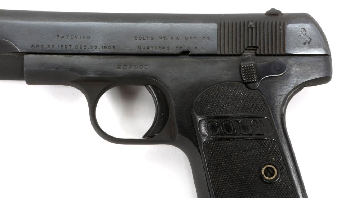 COLT MODEL 1903 POCKET HAMMERLESS .32 ACP PISTOL - 4
