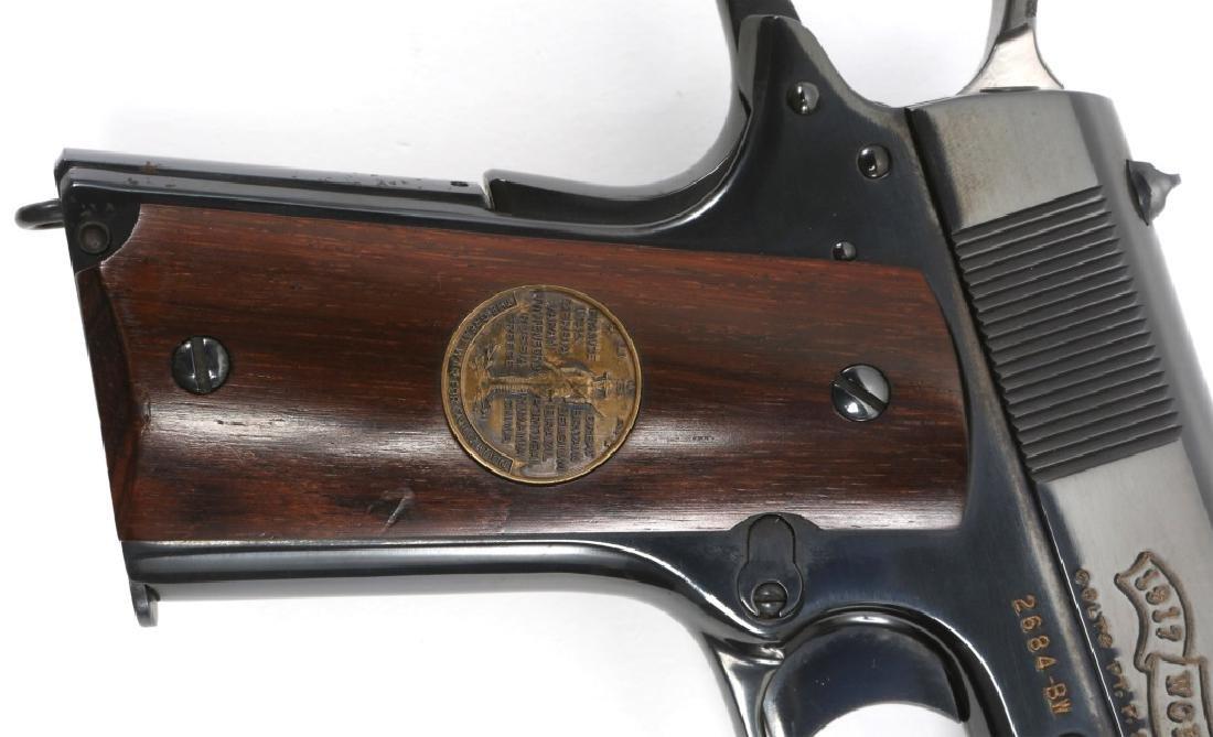 COLT 1911 BELLEAU WOOD WWI COMMEMORATIVE PISTOL - 3