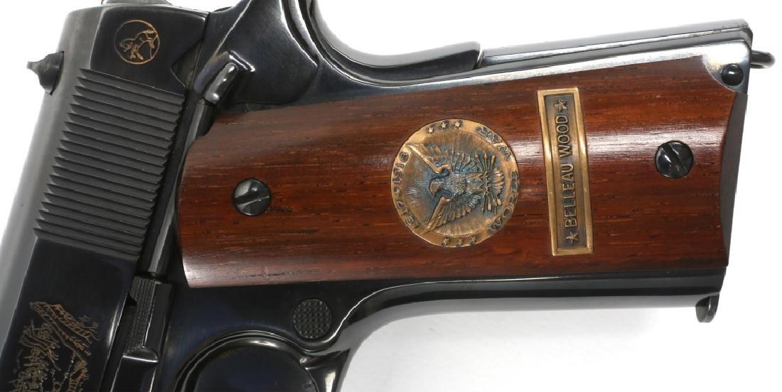 COLT 1911 BELLEAU WOOD WWI COMMEMORATIVE PISTOL - 6