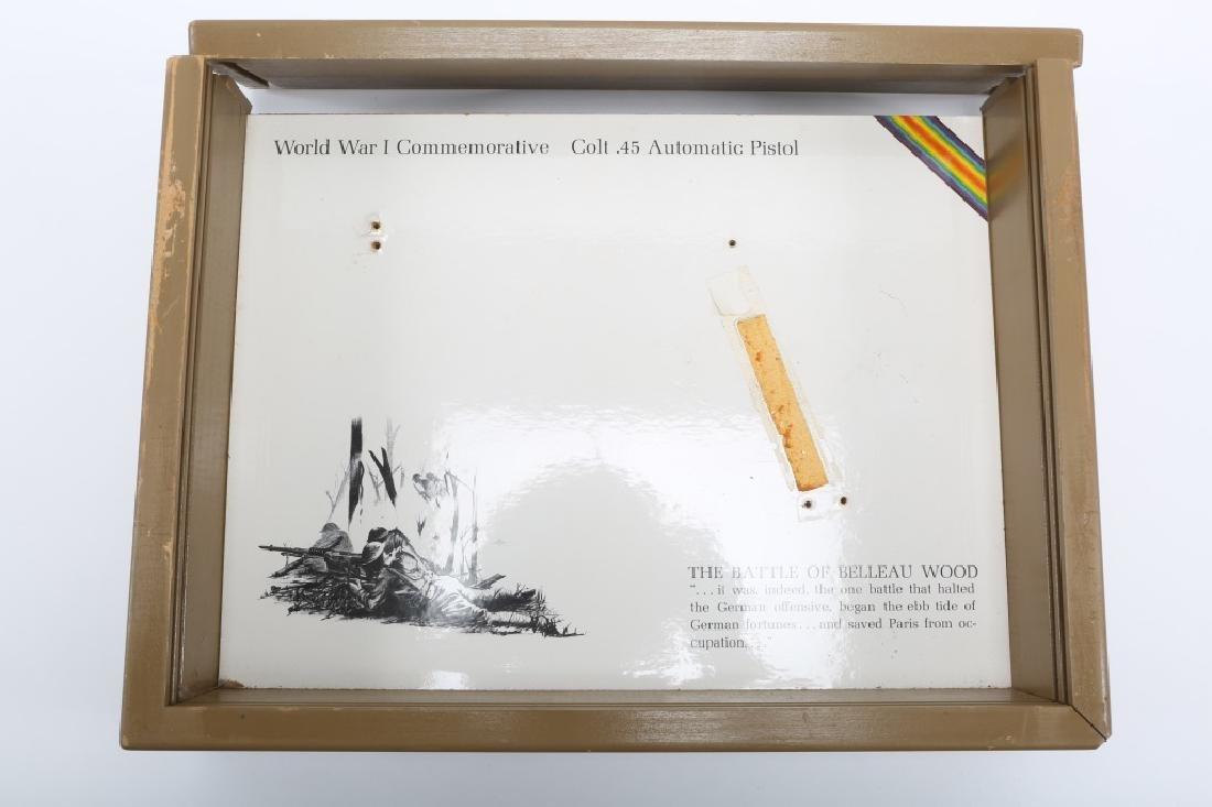 COLT 1911 BELLEAU WOOD WWI COMMEMORATIVE PISTOL - 9