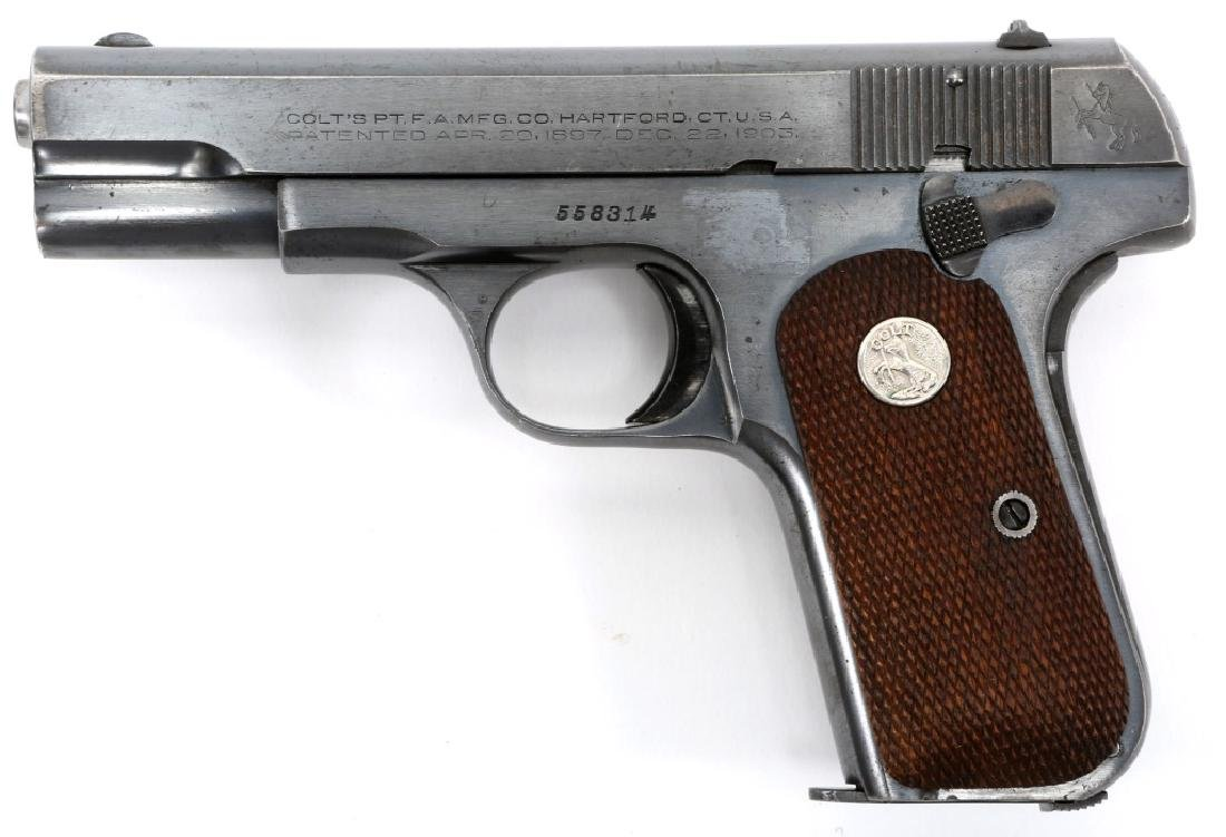 1941 US COLT MODEL 1903 .32 CAL PISTOL - 3