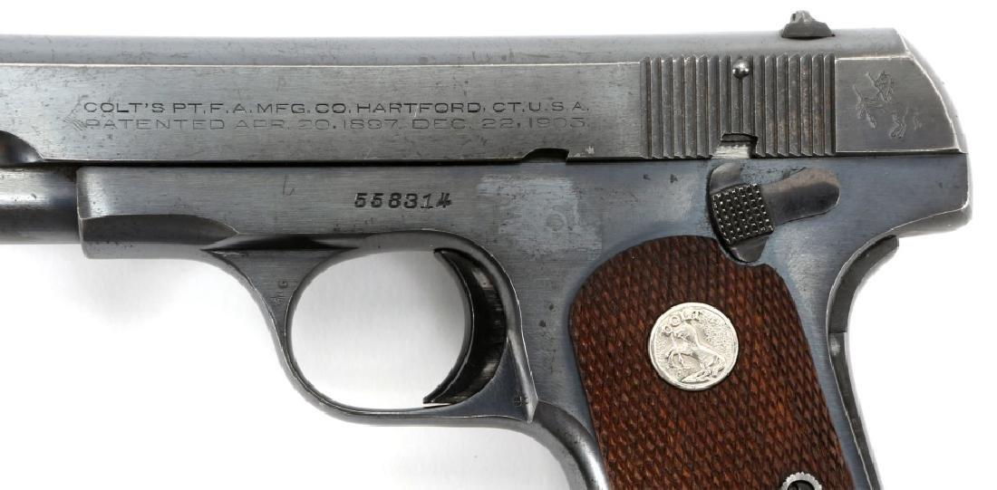 1941 US COLT MODEL 1903 .32 CAL PISTOL - 4