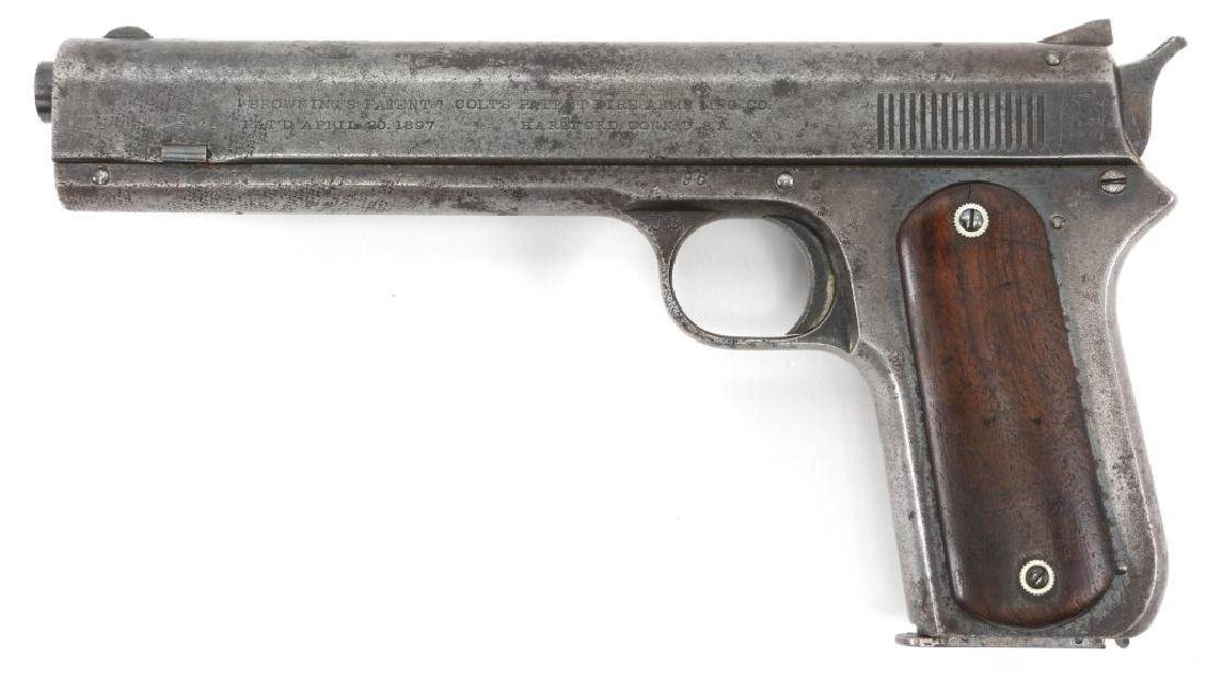 1900 US ARMY 1ST CONTRACT COLT MODEL 1900 PISTOL - 3