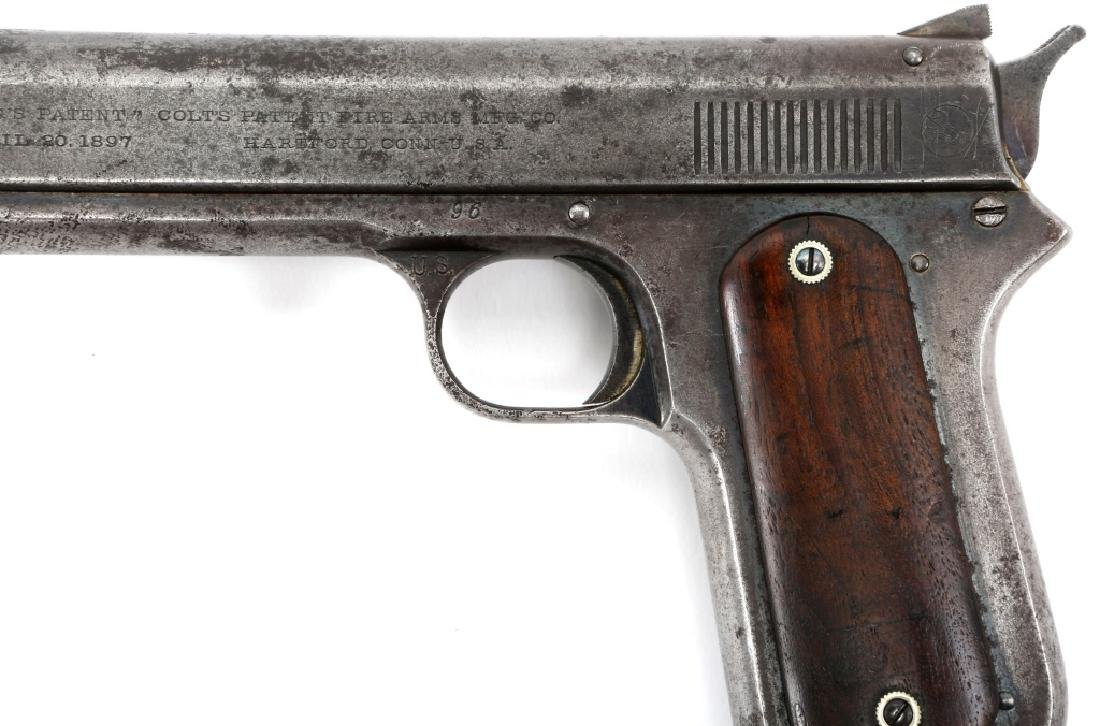 1900 US ARMY 1ST CONTRACT COLT MODEL 1900 PISTOL - 4