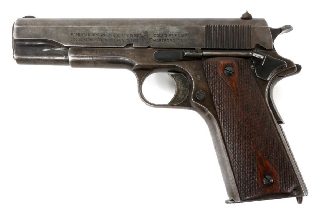 1918 US COLT MODEL 1911 .45 CAL PISTOL - 4