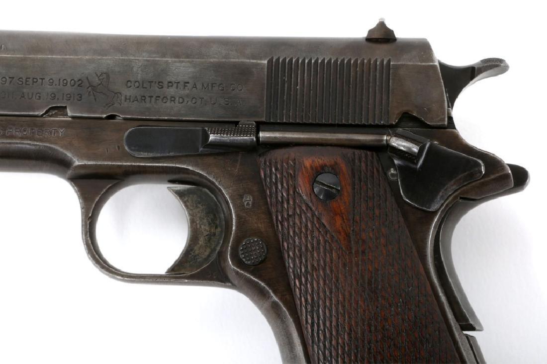 1918 US COLT MODEL 1911 .45 CAL PISTOL - 5