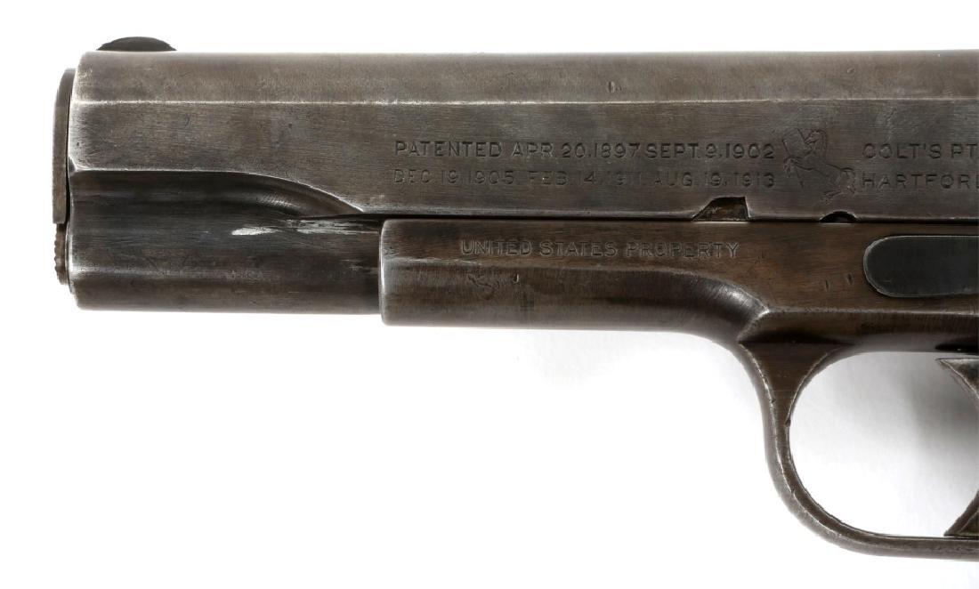 1918 US COLT MODEL 1911 .45 CAL PISTOL - 6