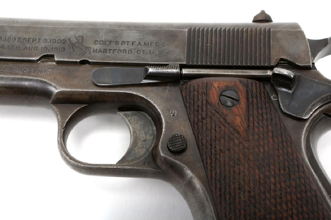 1918 US COLT MODEL 1911 .45 CAL PISTOL - 7