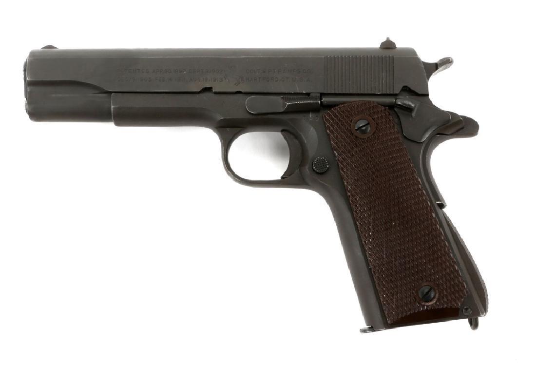 1943 US COLT MODEL 1911A1 .45 CAL PISTOL - 4