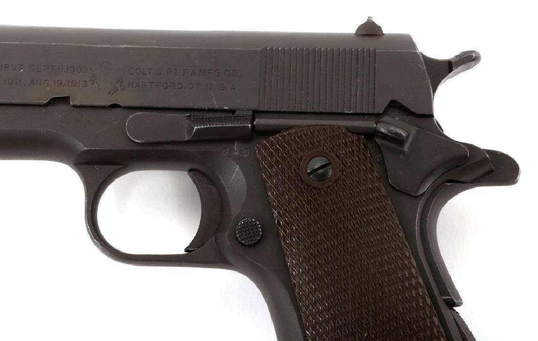 1943 US COLT MODEL 1911A1 .45 CAL PISTOL - 5