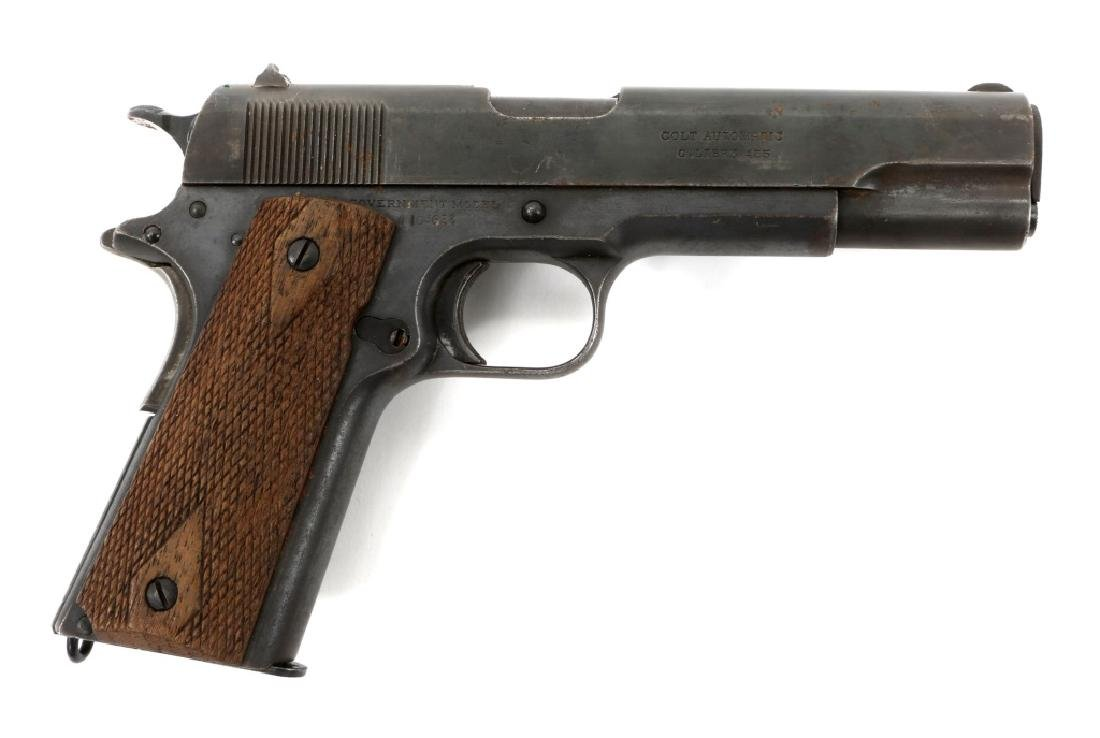 WWI BRITISH RAF CONTRACT COLT 1911 PISTOL .45 CAL