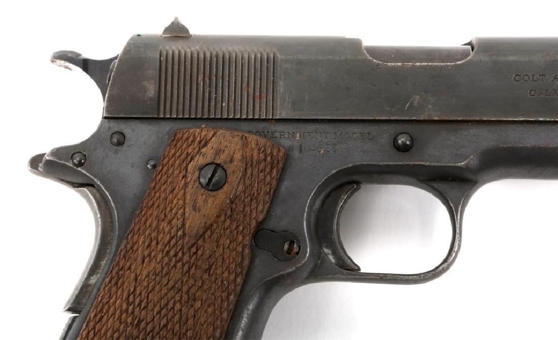 WWI BRITISH RAF CONTRACT COLT 1911 PISTOL .45 CAL - 2