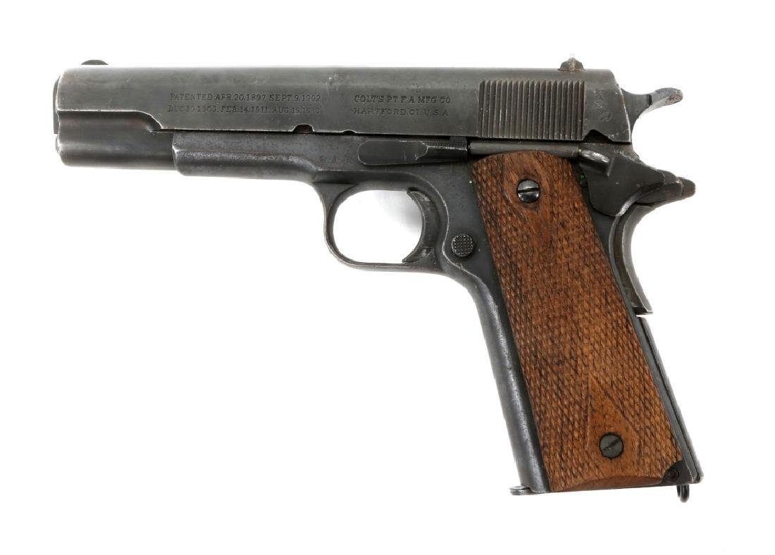 WWI BRITISH RAF CONTRACT COLT 1911 PISTOL .45 CAL - 4