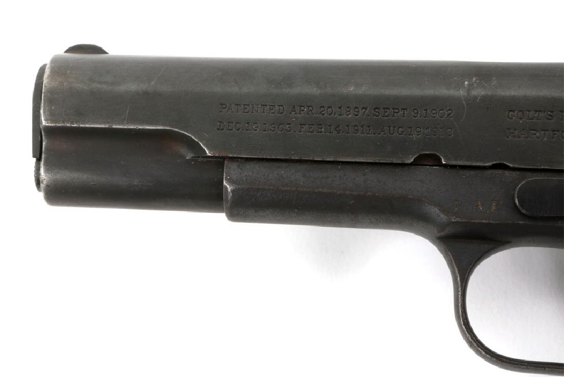 WWI BRITISH RAF CONTRACT COLT 1911 PISTOL .45 CAL - 6