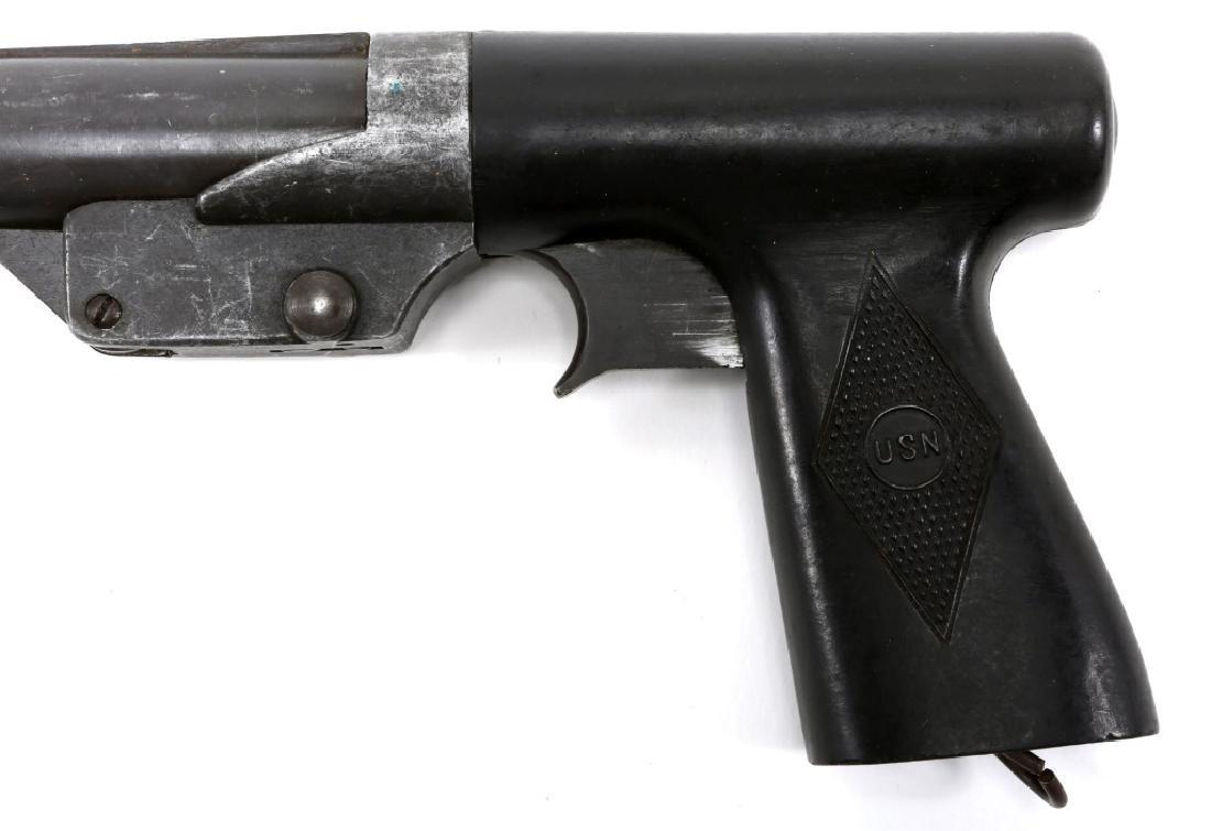 1943 US WWII USN SEDGLEY MARK 5 SIGNAL PISTOL - 6