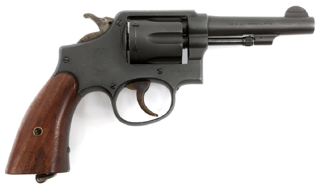 SMITH & WESSON VICTORY MODEL .38 SPECIAL REVOLVER
