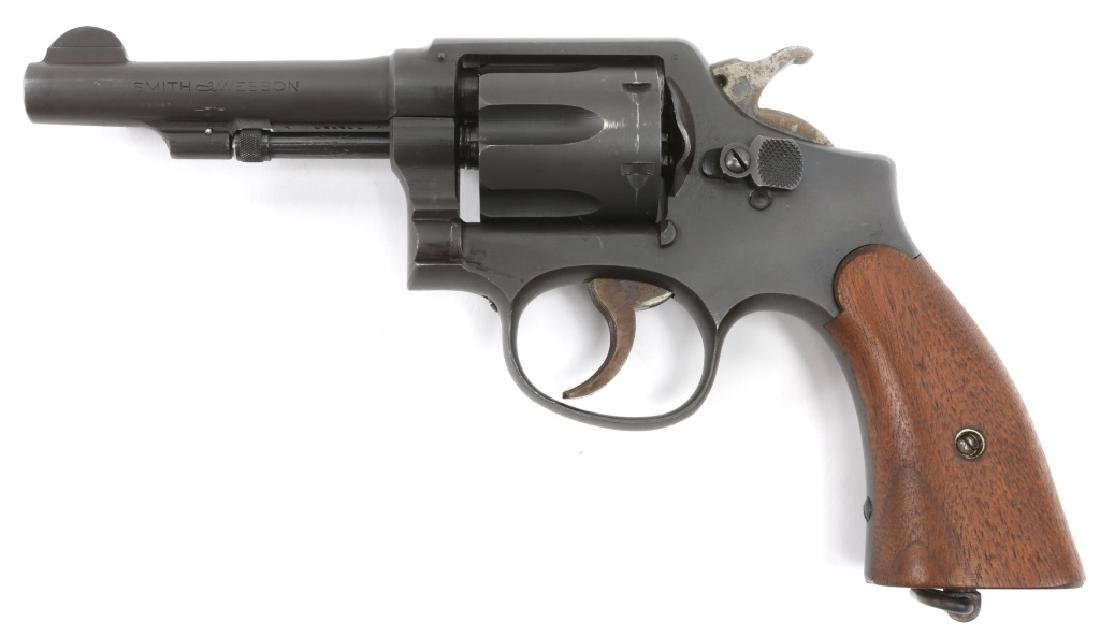 SMITH & WESSON VICTORY MODEL .38 SPECIAL REVOLVER - 3