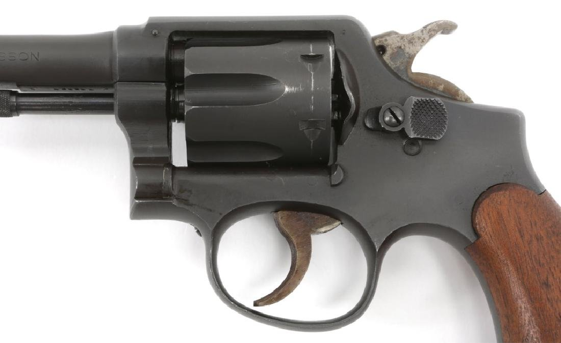 SMITH & WESSON VICTORY MODEL .38 SPECIAL REVOLVER - 4