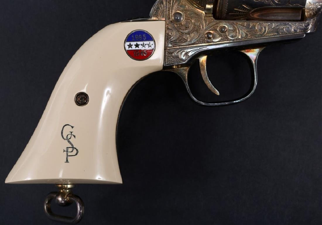 UBERTI COLT MODEL 1873 SAA PATTON COMMEMORATIVE - 3